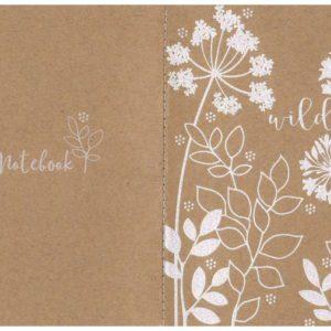 Zápisník s květinami
