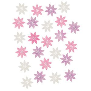 Dřevěné květiny