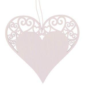 Dřevěné srdce – velké