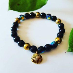 Náramek Černá perla