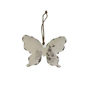 Kovový motýlek