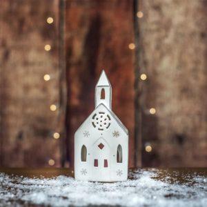 Svícen kostelíček