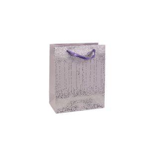 Dárková taška fialová