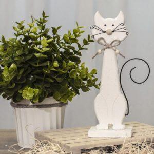 Dřevěná kočička