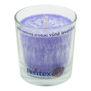 Svíčka ve skle Levandule