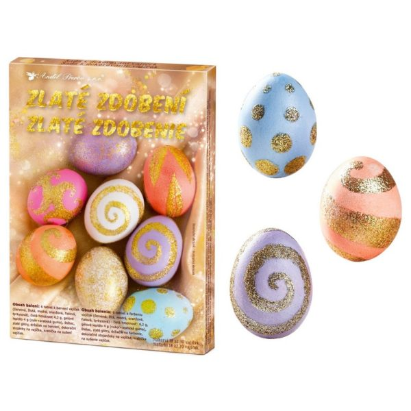 velikonoční kraslice barvy