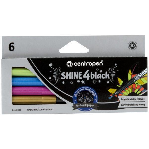 shine 4 black centropen