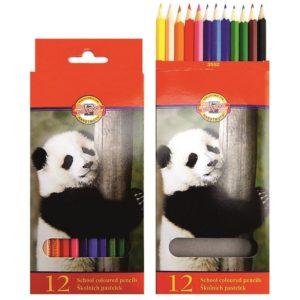 Pastelové tužky Safari 12ks