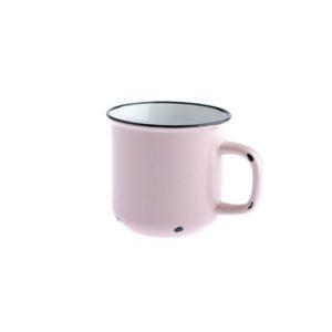 Porcelánový hrnek růžový