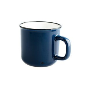 Porcelánový hrnek modrý