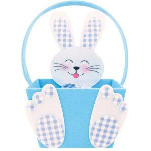Modrý zajíc košíček