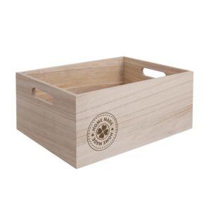 Dřevěná bedýnka Home made