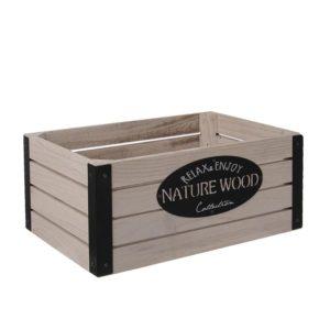 Dřevěná bedýnka Nature Wood