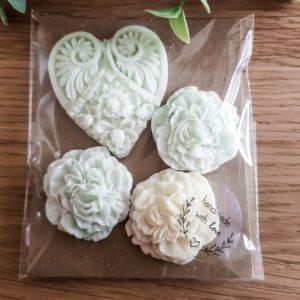 Vonný vosk Květinové srdce